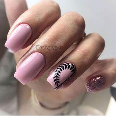 2019 Pink Nails Ideas In Fall and Winter - Fashion Yard Xmas Nails, New Year's Nails, Halloween Nails, Gel Nails, Acrylic Nails, Winter Nails, Spring Nails, Summer Nails, Pink Nail Art