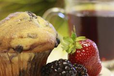 Muffin, coffee, cafe loca loca