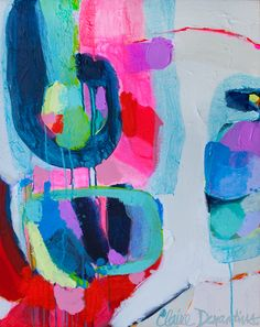 """Sugar Coat"" by Claire Desjardins - 24""x30"" - Acrylics on canvas. 2012."