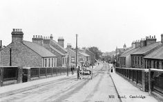 An historic photograph of the now vibrant Mill Road, Cambridge.