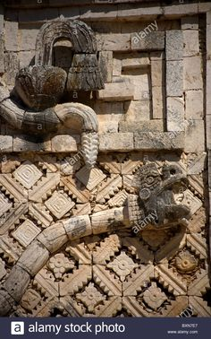 Mayan feathered serpent