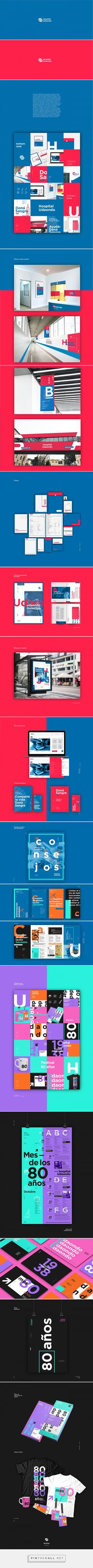 Identidad-Hospital Udaondo on Behance... - a grouped images picture - Pin Them All