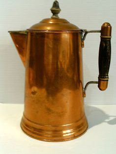 Old Copper Coffee Pot