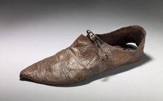 Medieval shoe, probable river find