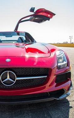 """""""Oh Lord can't you buy me...."""" Love at first sight with this Mercedes SLS AMG. Click to discover more. #spon"""