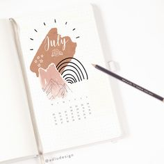 Cover idea using abstract stickers printable by and kraft paper with a lil bit of doodling :) Bullet Journal Notes, Bullet Journal Aesthetic, Bullet Journal Hacks, Bullet Journal Ideas Pages, Bullet Journal Layout, Bulletin Journal Ideas, Weekly Log, Bujo, Journal Design