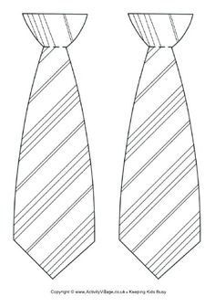 Use this striped tie template for our Father's Day or Harry Potter (Hogwarts) tie crafts - or any time your child needs a snazzy tie for dressing up purposes! Cumpleaños Harry Potter, Harry Potter Colors, Harry Potter Bookmark, Harry Potter Halloween, Harry Potter Stencils, Harry Potter Drawings, Tie Template, Stencil Templates, Templates Free