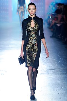 Jason Wu Fall 12 - merging 30's influences with Chinese culture #qipao #cheongsam