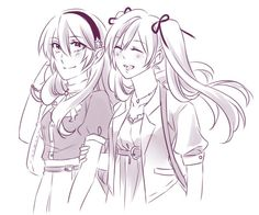 Kamui and Robin.