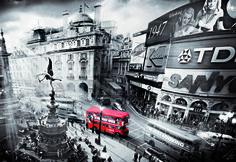 """Puzzle EDUCA """"Piccadilly Circus"""", 1.000 piezas."""