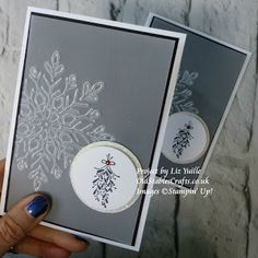 Liz Yuille - Old Stables Crafts: Merry Mistletoe Snowflake Advent 20 - #235