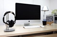 Cool headphone stand to protect that $300 purchase