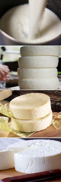 Cómo Hacer QUESO FRESCO CASERO (con leche fresca) #pan #panes #mate #queso #comohacer #yogurt #leche #receta #recipe #cocina #nestlecocina #vinagre #manzana Agrega la sal, revuelve y, sin dejar de mover, incorpora poco a poco el vina...