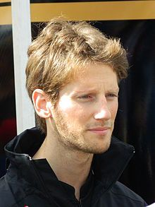 Romain Grosjean just placed 3rd on the grid for the start of the 2012 Australian GP