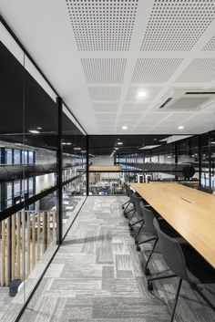 OZ Minerals Head Office - Studio Nine Architects Thing 1, Architects, Minerals, Conference Room, Stairs, Interior Design, Studio, Furniture, Home Decor