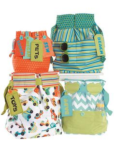 Bags 'N Tags Sewing Pattern