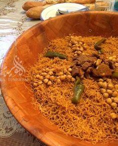Vermicelles tunisiennes à la vapeur – Douida mfawra | La Tunisienne