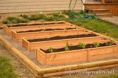 garden cedar raised bed boxes