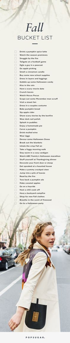 Have the Best Autumn EVER With Our Ultimate Fall Bucket List