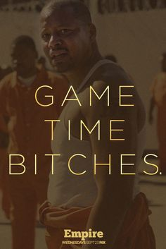 Game. Time.  Bitches.  Empire Wednesdays on FOX.