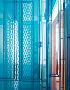 Last summer the Korean artist Do Ho Suh papered over much of the interior of a four-storey New York townhouse. It was thin paper, stuck down with gentle glue, a kind of second skin. Then he coated his fingers in pastel and rubbed the walls, 'caressing ...