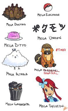 Mega Evolutions Are the Best!