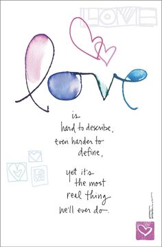 Dose of Inspiration: What is Love