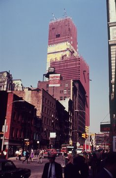 World Trade Center construction ca. 1970 / Collection of the 9/11 Memorial Museum, Gift of the Family of Peter Zindulka