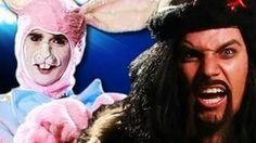 Genghis Khan vs Easter Bunny.