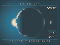 Vacation Races - Graphic Design / Illustration