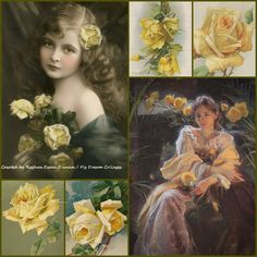 '' Yellow Roses''  by Reyhan Seran Dursun