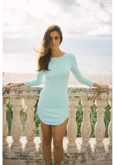 ON SALE - $19.99 | Carley Mint Dress - Use code ERIKAMARIE at checkout for discount! You're going to love our Carley mint bodycon! | E's Closet Boutique  Fashion, fall, winter, party, cocktail, dinner, date night, girls night out, casual, shopping, wardrobe, sleeve, sleeved, sleeves, mint, outfit, sale, boutique, Florida, online, available now, style