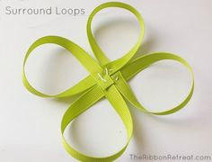 Learn how to make bows like the Twisted Boutique Bow, Pinwheel Bow, Spikes, and Surround Loops, and how to layer them all in our tutorial. Ribbon Crafts, Ribbon Bows, Ribbons, Hair Bow Tutorial, Flower Tutorial, Disney Hair Bows, Ribbon Retreat, Rainbow Loom Charms, Pinwheel Bow