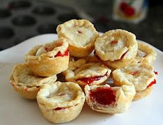 Cherry Pie Poppers