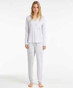 Grey striped trousers - View All.
