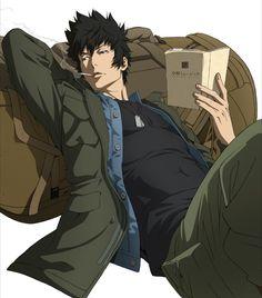 Psycho Pass: Sinners Of The Systems - Kougami Shinya - Manga Art, Anime Manga, Anime Guys, Anime Titles, Anime Characters, Power Girl Costume, Kogami Shinya, Science Fiction, Psycho Pass
