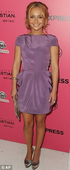 Hayden Panettiere in Dennis Basso Spring 2010 at the 6th Annual Hollywood Style Awards, October 2009