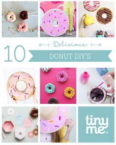 20 Fun And Colorful Diy Donut Craft Ideas Craft Ideas Diy Donuts