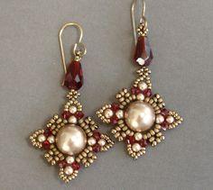 Oriental Earrings Tutorial photo