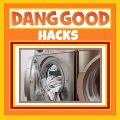 Several Simple Dryer Hacks to use in your Tumble Dryer. See our Dang Good Cleaning Blog for some Handy Tips and Tricks to make doing Laundry easier. Vent Cleaning, Steam Cleaning, Cleaning Hacks, Doing Laundry, Laundry Hacks, Dryer Sheet Hacks, Laundry Symbols, Organization Hacks, Organizing