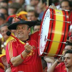 Tomorrow starts the Confederation Cup in Brazil. Go #Spain! meet Manolo, Spain's biggest fan!