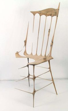 Drew Daly, Remnant chair (2004-05), contemporary sculpture, escultura contemporánea, sculpture contemporaine