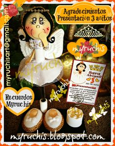 Invitaciones Bautizo myruchis.blogspot.com
