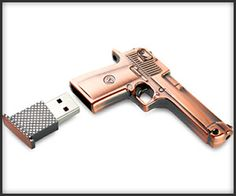 Pistol Flash Drive