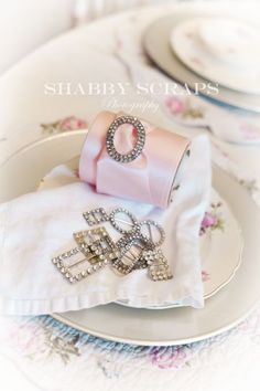 pretty ideas for napkin rings : Petticoats and parasols 296