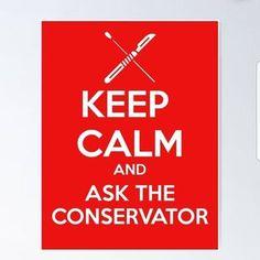 Art Conservation, Keep Calm, Artwork, Work Of Art, Stay Calm, Auguste Rodin Artwork, Relax, Artworks, Illustrators