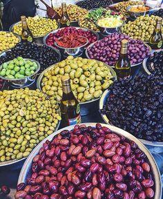 "Tel Aviv (@telaviv) on Instagram: ""Any flavor you choose (photo by @librescu) #telaviv #tlv #israel #foodie #food #markets"""