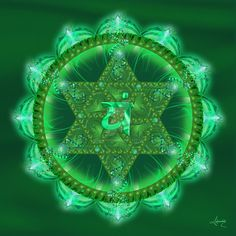 Heart Chakra Symbol, Anahata by Ashnandoah on DeviantArt