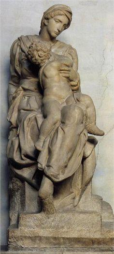 Michelangelo Buonarroti (1475-1564) Medici Madonna, 1531