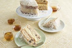 30 Vintage Cakes from the South That Deserve a Comeback Japanese Fruitcake with Lemon-Coconut Frosting Frosting Recipes, Cake Recipes, Dessert Recipes, Party Recipes, Baking Recipes, Holiday Desserts, Just Desserts, Southern Desserts, Southern Dishes